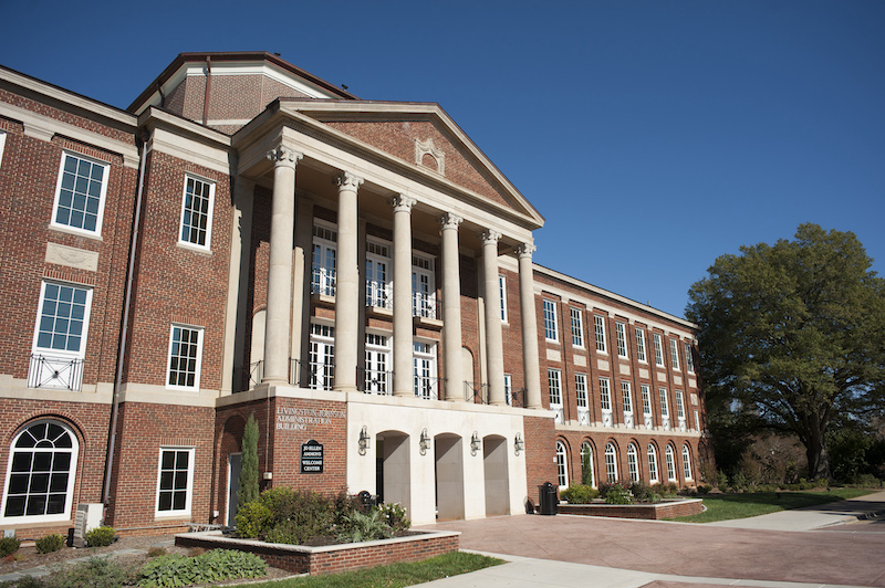 Exterior of Johnson Hall